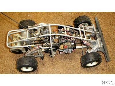 kyosho landjump 1 8 gas powered 4wd landjump buggy land jump vanning mint las vegas impacta. Black Bedroom Furniture Sets. Home Design Ideas