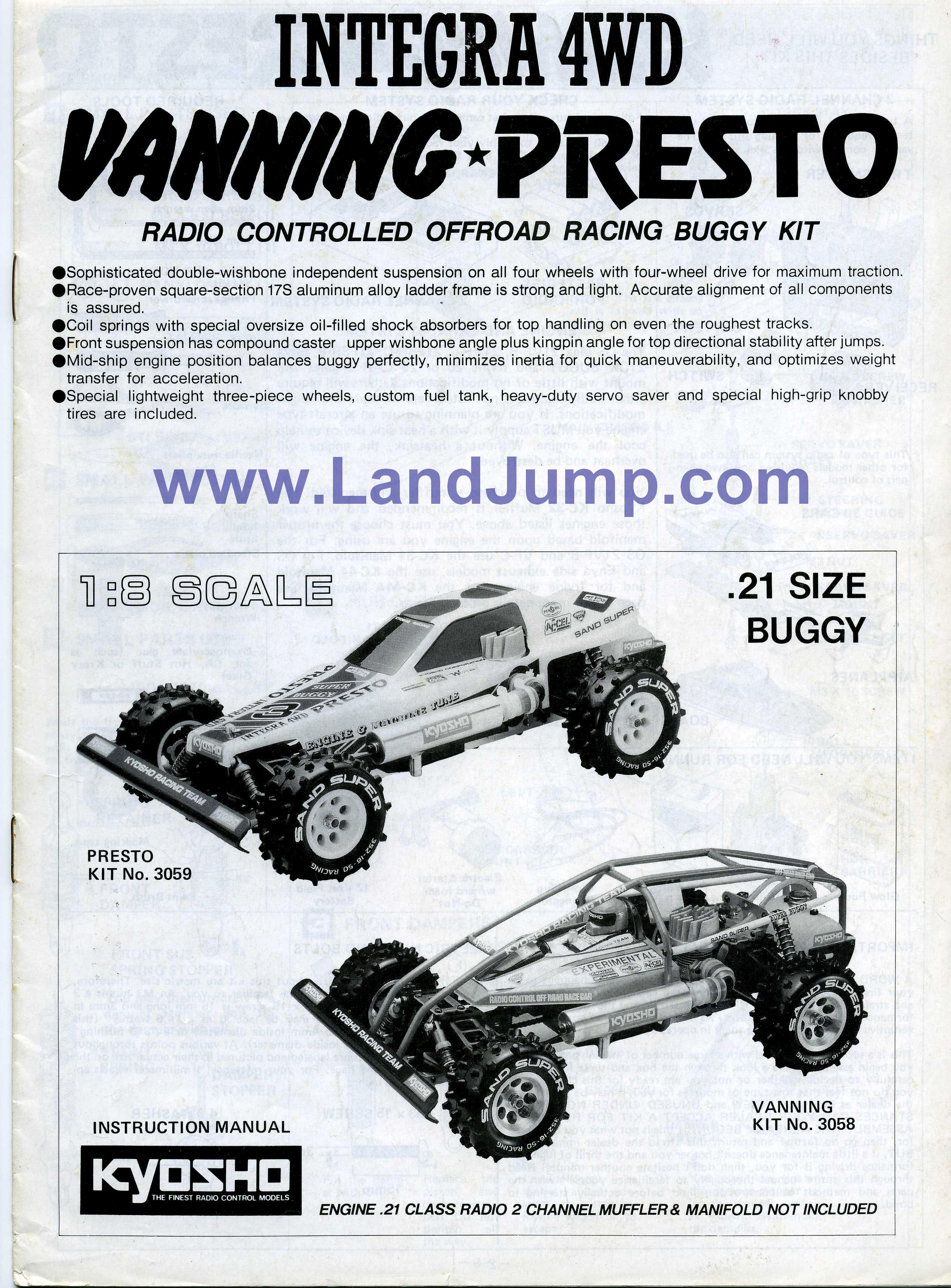 Kyosho Landjump Gas Powered 4wd Vintage Buggy Land Jump Vw Bus Engine Diagram With Wheelie Bar Vanning Mint Las Vegas Impacta Baja Rowdy And So Much More